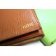 Carnet de voyages moyen format en cuir personnalisable