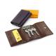 Porte-monnaie à clés personnalisé en cuir