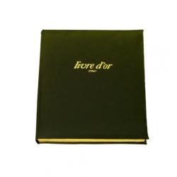 Grand Livre d'Or en cuir Windsor personnalisable