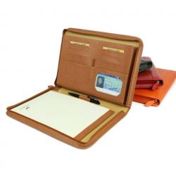 Conférencier cuir A4 porte-documents personnalisable