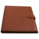 """Conférencier en cuir A4 à courrier personnalisable - Gamme """"Les Tendances"""""""