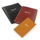 Agenda de bureau personnalisable grand format en cuir